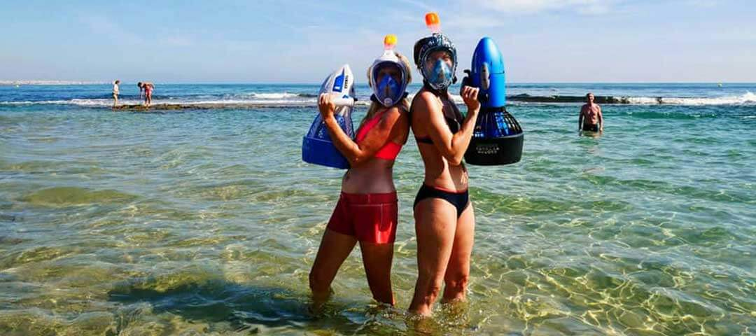 Sea-Scooter Snorkelling with Costa Blanca Quad Tours, Pilar de la Horadada