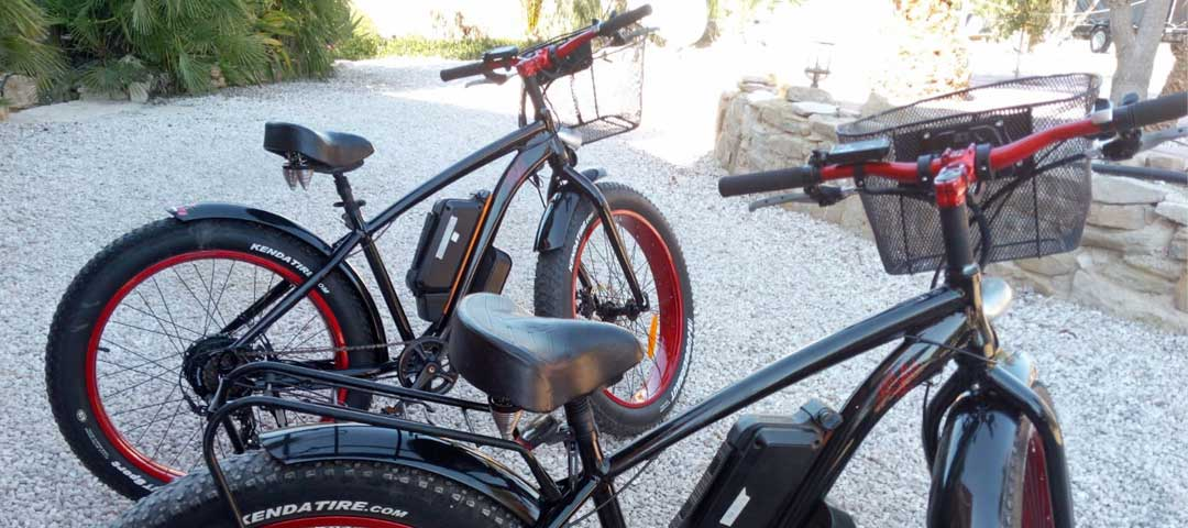 e-biking eco-tours round Lake Pedrera with costa blanca quad tours