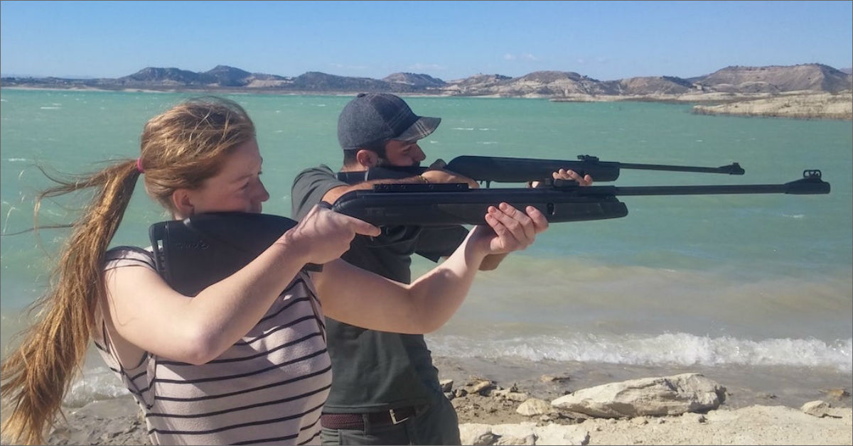 Air Rifle Shooting Lake Pedrera Torrevieja